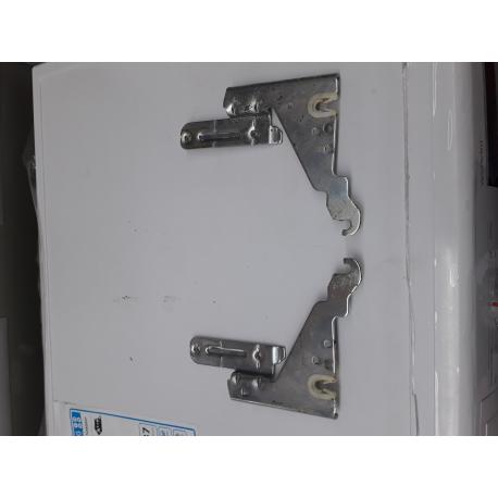Bosch SMS50L08EU/24 Scharnier Bovendeel Links 00645027/12005776 en Rechts 00645029/12005775